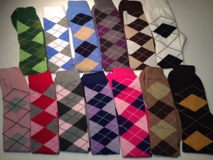 New socks arrived a Colorful bunch