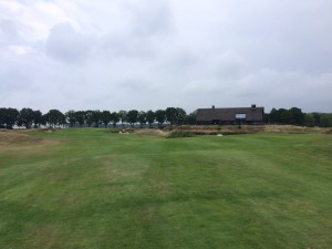 Drive past The bunkers 235m